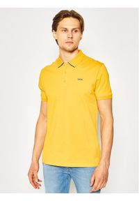 Żółta koszulka polo Hugo polo