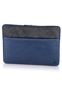 Niebieskie etui na laptopa hama w kolorowe wzory