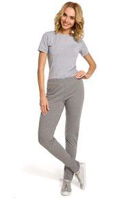 Szare spodnie dresowe MOE