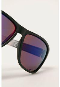Czarne okulary przeciwsłoneczne Uvex prostokątne
