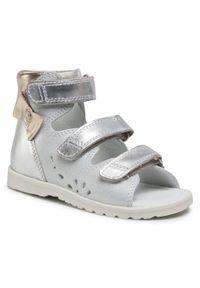 Białe sandały Bartek
