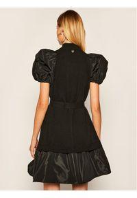 Czarna sukienka dzianinowa TwinSet