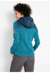 Niebieska bluza bonprix melanż