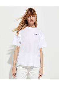 Biały t-shirt Alexander McQueen