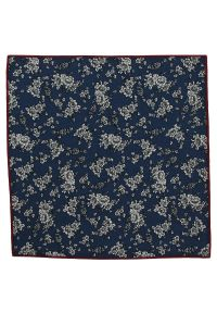 Niebieska poszetka Alties w kwiaty