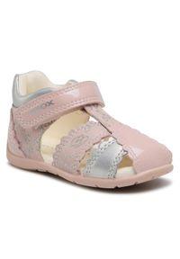 Geox Sandały B Elthan G. C B151QC 0HI10 C8237 Różowy. Kolor: różowy