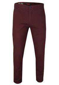 Czerwone spodnie Verrs na co dzień, casualowe