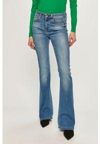 Niebieskie jeansy bootcut Pinko klasyczne