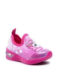 Bibi - Sneakersy BIBI - Space Wave 1132087 Tie Dye/Unicorn/Hot Pink. Okazja: na co dzień. Kolor: różowy. Materiał: materiał. Szerokość cholewki: normalna. Styl: casual