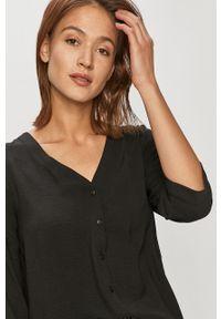 Czarna koszula Jacqueline de Yong na co dzień, casualowa