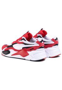 Czerwone buty sportowe Puma do biegania, z cholewką