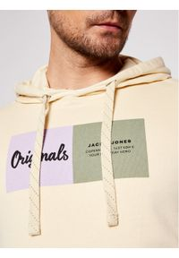 Jack & Jones - Jack&Jones Bluza Joshuas Sweat 12185697 Żółty Regular Fit. Kolor: żółty