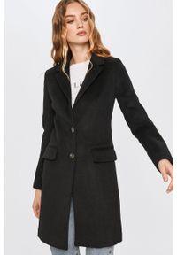 Czarny płaszcz Answear Lab bez kaptura, na co dzień, wakacyjny