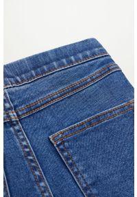Niebieskie legginsy Mango Kids gładkie