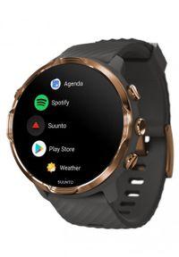 SUUNTO - Zegarek sportowy Suunto 7 Graphite Copper. Rodzaj zegarka: cyfrowe. Styl: sportowy