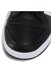 Adidas - Buty adidas - Top Ten J FW4998 Cblack/Ftwwht/Cblack. Kolor: czarny. Materiał: skóra ekologiczna, skóra, materiał. Szerokość cholewki: normalna. Styl: młodzieżowy