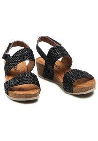Refresh - Sandały REFRESH - 72755 Black. Okazja: na co dzień, na spacer. Kolor: czarny. Materiał: skóra ekologiczna, materiał, skóra. Sezon: lato. Styl: casual #5
