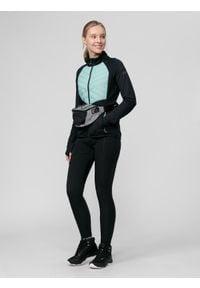 4f - Spodnie trekkingowe damskie. Kolor: czarny. Materiał: tkanina, włókno, elastan, dzianina