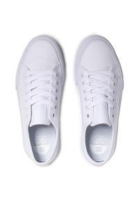 Tenisówki DC - Manual ADYS300591 White (103). Okazja: na co dzień. Kolor: biały. Materiał: materiał. Szerokość cholewki: normalna. Styl: casual
