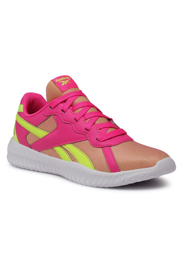 Różowe buty do fitnessu Reebok z cholewką, na co dzień