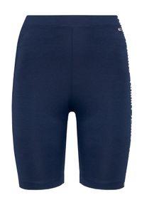 Niebieskie spodenki sportowe Tommy Jeans