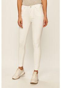 Białe jeansy Pepe Jeans