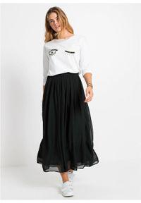 Czarna spódnica bonprix długa