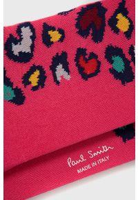 PS PAUL SMITH - PS Paul Smith - Skarpetki. Kolor: różowy