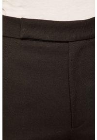 Czarne spodnie materiałowe Miss Sixty casualowe, na co dzień, z podwyższonym stanem