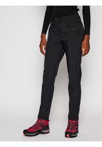 Czarne spodnie sportowe CMP outdoorowe