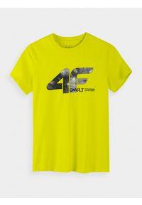 T-shirt 4f z nadrukiem