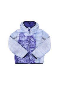 Niebieska kurtka puchowa Desigual