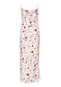 Samsoe & Samsoe - Samsøe Samsøe Sukienka letnia Apples Ml F21100108 Różowy Slim Fit. Kolor: różowy. Sezon: lato