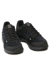 Haglöfs - Trekkingi HAGLÖFS - Krusa Gt Men GORE-TEX 497980 True Black. Kolor: czarny. Materiał: skóra, zamsz, materiał. Szerokość cholewki: normalna. Technologia: Gore-Tex. Sport: turystyka piesza #7