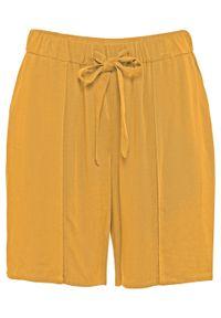 Żółte spodnie bonprix