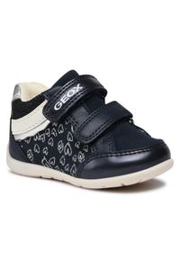 Geox Sneakersy B Elthan G. B B041QB 010AJ C0673 Granatowy. Kolor: niebieski