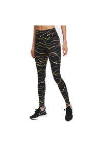 Legginsy damskie Nike Icon Clash Fast CU3333. Materiał: tkanina, materiał, poliester. Technologia: Dri-Fit (Nike). Wzór: nadruk. Sport: bieganie