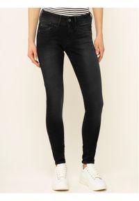 Czarne jeansy slim G-Star RAW
