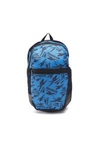 Niebieski plecak Reebok w paski