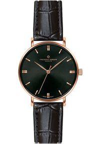 Czarny zegarek Frederic Graff klasyczny