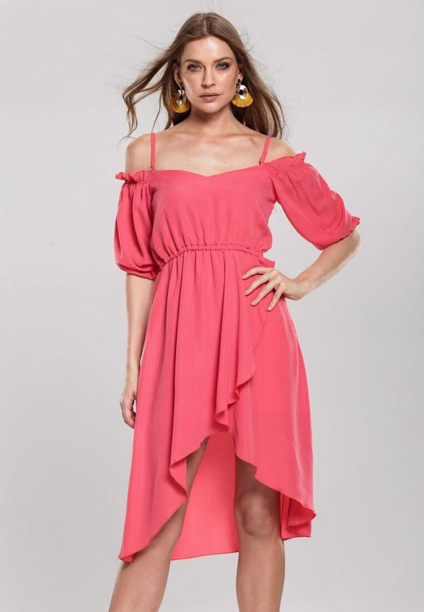 Różowa sukienka mini Renee