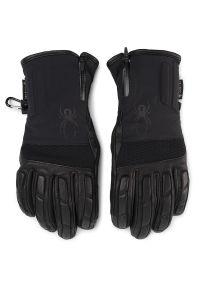 Czarna rękawiczka sportowa Spyder narciarska, Gore-Tex