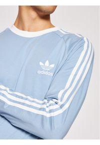Adidas - adidas Longsleeve adicolor Classics 3-Stripes H37777 Niebieski Regular Fit. Kolor: niebieski. Długość rękawa: długi rękaw
