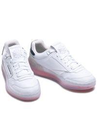 Buty Reebok - Club C Legacy G55899 White/Wicor/Forgrn. Kolor: biały. Materiał: skóra ekologiczna, materiał, skóra. Szerokość cholewki: normalna. Wzór: kolorowy. Model: Reebok Club