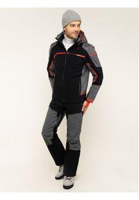Czarna kurtka narciarska Spyder