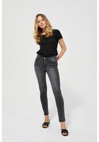MOODO - Jeansy push up. Długość: długie. Wzór: gładki