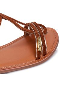 Brązowe sandały Les Tropeziennes na lato
