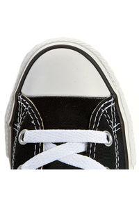 Czarne półbuty Converse