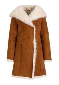Ugg Płaszcz zimowy 1017644 Brązowy Regular Fit. Kolor: brązowy. Sezon: zima #5