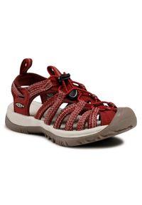 Czerwone sandały trekkingowe keen